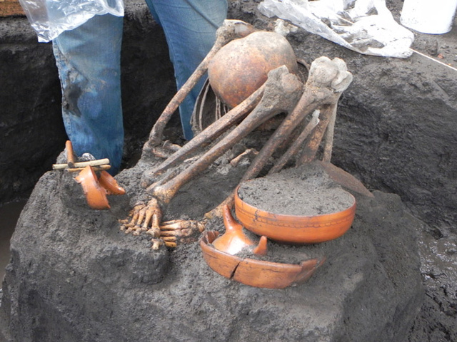 Archaeologists Discover Aztec