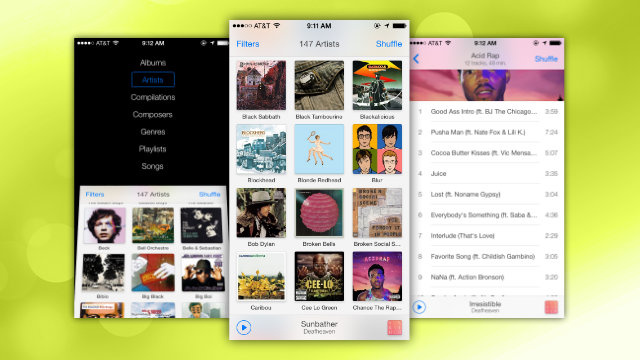 Ecoute Is a Simple and Attractive Alternative to the iPhone Music App