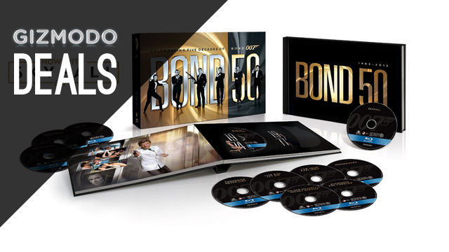 23 James Bond Blu-rays For Under $100, Free Month Of Redbox Streaming