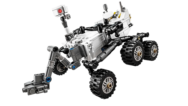 The Mars Curiosity Rover Is
