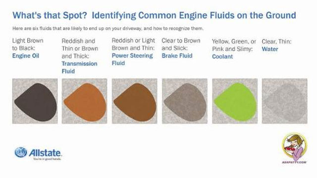 6 Common Fluids That Can Leak