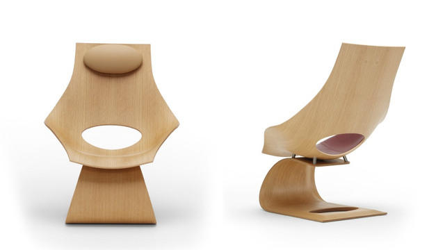 This Surprisingly Strong Bentwood Chair Looks Like It Would Snap In Two