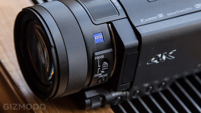 Sony AX100: The 4K Camcorder Race Heats Up