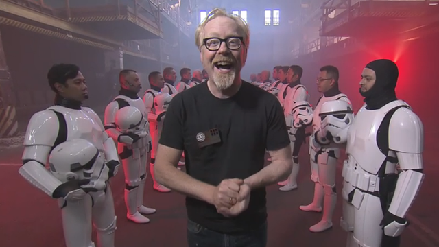 MythBusters Tests Your Favorite Star Wars Stunts Tonight at 8PM ET
