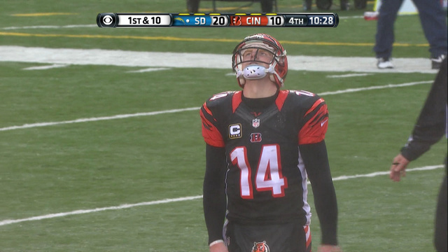 Andy Dalton Is Just Having A Bad Day