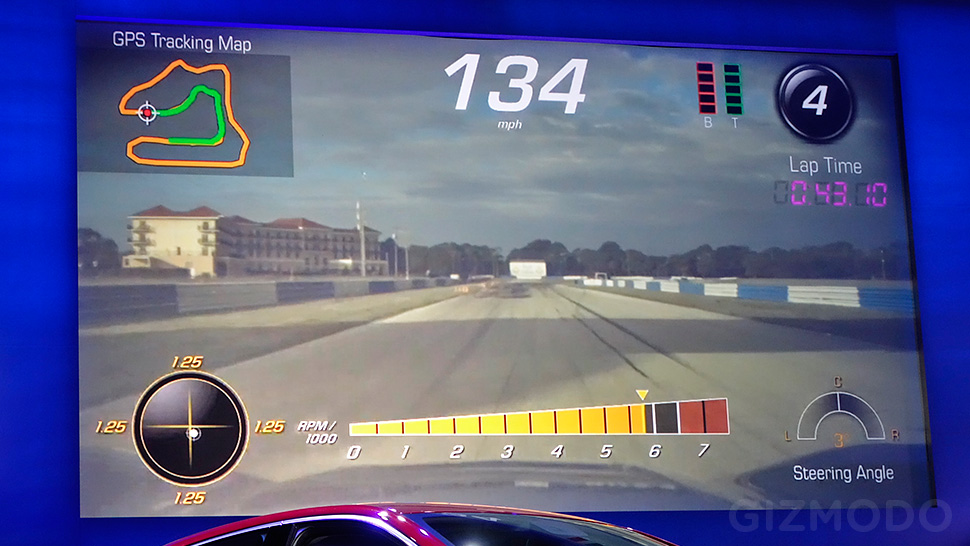 The New Corvette Stingray Will Come With Built-In Instant Replay