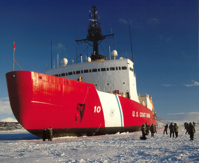 This Super Icebreaker Is Heading to Antarctica to Free Two Frozen Ships