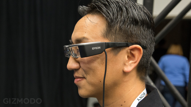 Hands On Epson's Moverio BT-200: Augmented Reality Lite