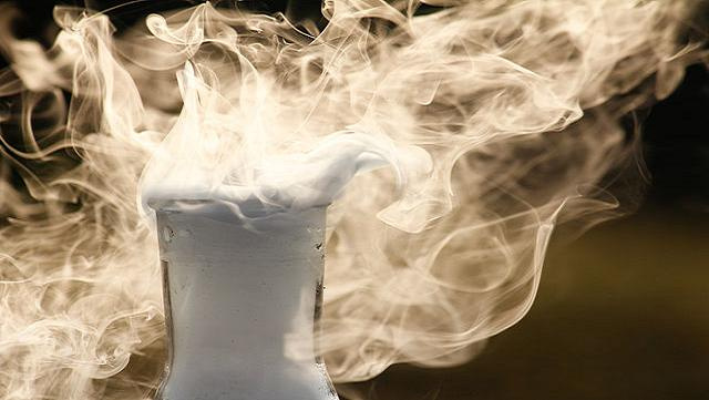 how to make dry ice explode