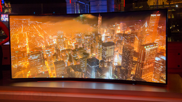 Hands On: Samsung's 4K TVs Are Getting All Bent Out of Shape