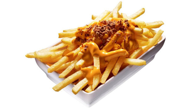 In Japan, McDonald's Merely Launched Disgusting-Looking Cheese Fries