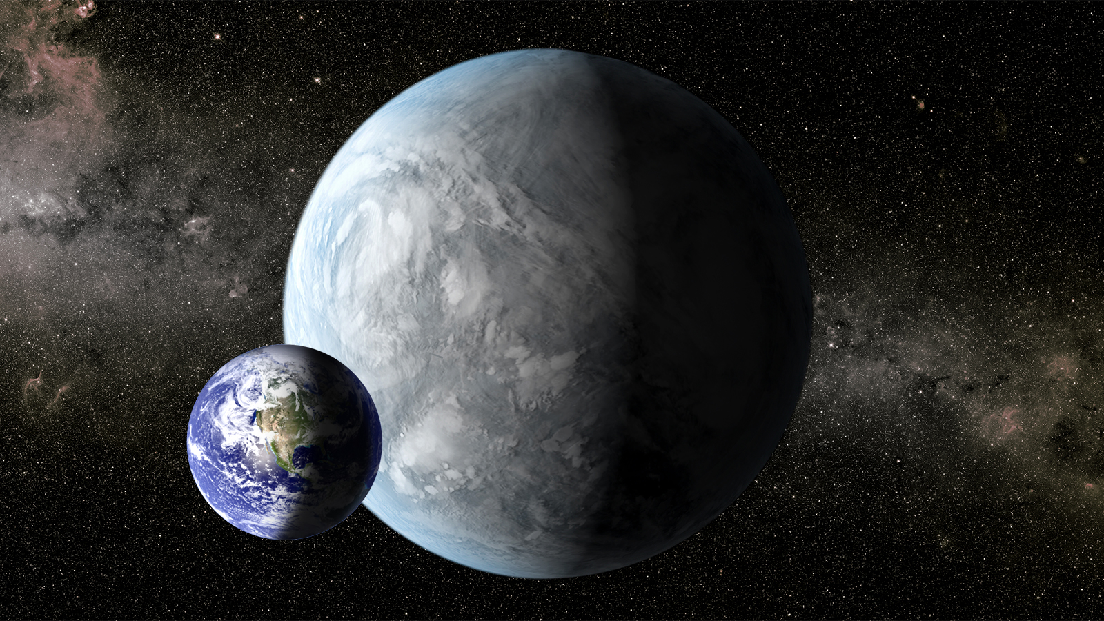 Astronomers super earths have oceans and continents just like earth