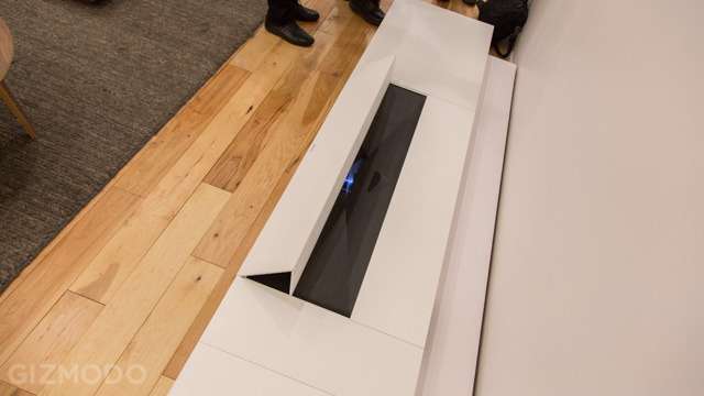 Eyes On: Sony's Ultra Short-Throw 4K Projector Sure Lights Up a Room