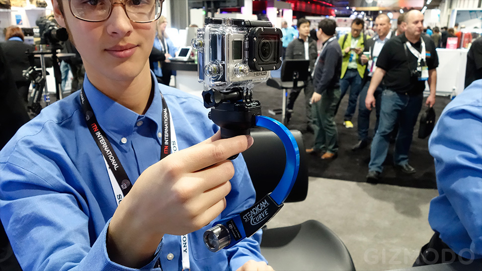 Steadicam S Curve Makes Your Gopro Vids As Smooth As Silk