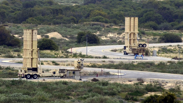 Israel's National Missile Shield Could Shoot Satellites Out of Orbit