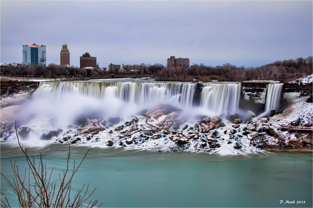Niagara Falls Isn't Frozen--But It's Getting There, And It's Beautiful