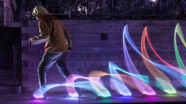 Remote Control Sneaker Lights Blind Your Friends With Awesomeness