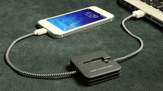 A Charging Cable That Saves a Little Power For Later