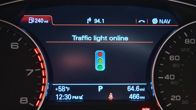 Audi's Traffic Light Assistance Ensures You Never Hit a Red Light