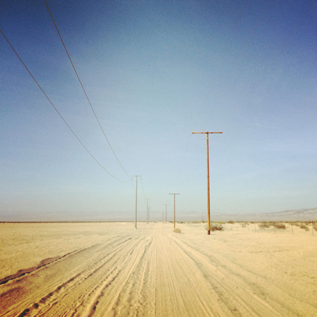 A Pilgrimage to the Buried Electrical Network Outside Los Angeles