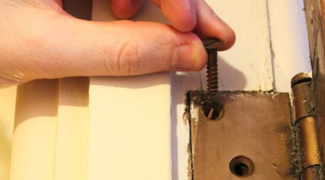 Fix Hard-to-Shut Doors with Toothpicks