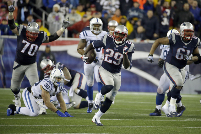Once An Afterthought, LeGarrette Blount Beats The Colts Down
