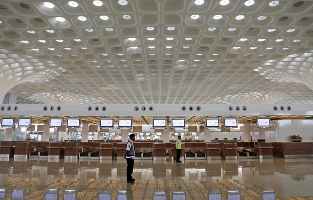 Check Out Mumbai's Sparkling, Slum-Bordered New Airport Terminal
