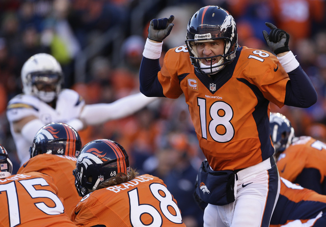 Peyton Manning Doesn't Light Up The Chargers; Broncos Win Anywa…