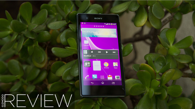 Sony Xperia Z1S Review: Big