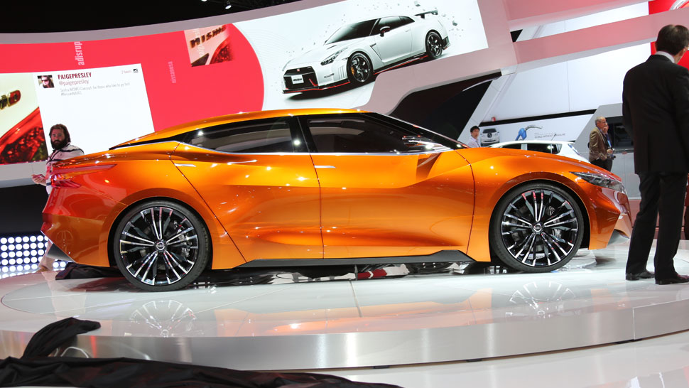 Nissan Sports Sedan Concept Maxima Other Vehicles Gt R Life