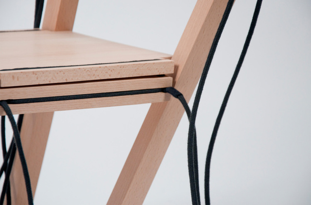 String Theory: Watch This Pile of Wood Transform Into A Functioning Chair