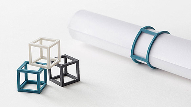 Elastic Cubes Take Rubber