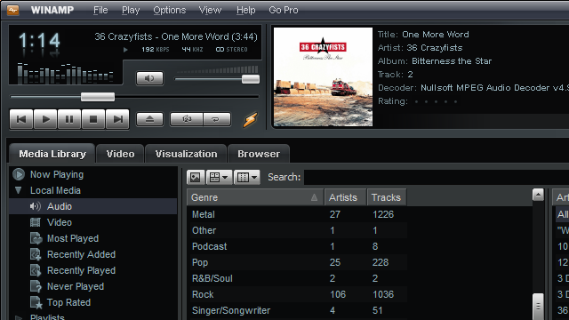 Winamp Rises From the Ashes,