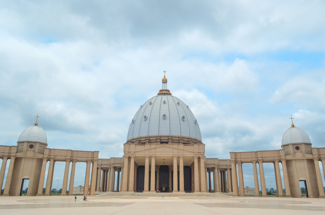 How a Giant Replica of the Vatican Ended Up In a Small African City