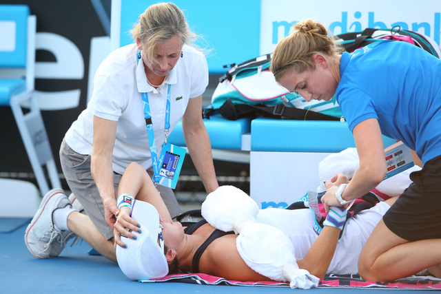 Players Are Fainting, Puking, And Hallucinating At The Australian Open