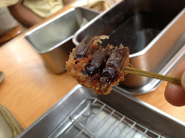 Fried Scorpion? Osaka Restaurant Serves Up Unusual Eats