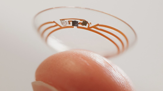 Google Is Making Smart Contact Lenses for Better Health Monitoring