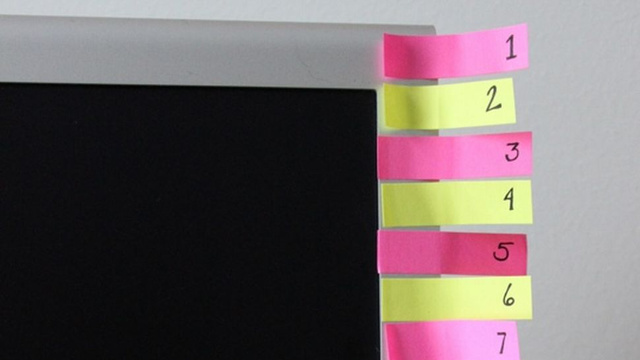 Make a Post-It Note Countdown to Stick to Your Habit Plan