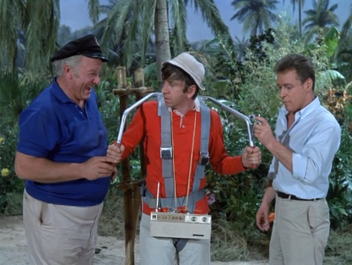 Rip the professor of gilligan s island and his jetpack fuel gizmodo