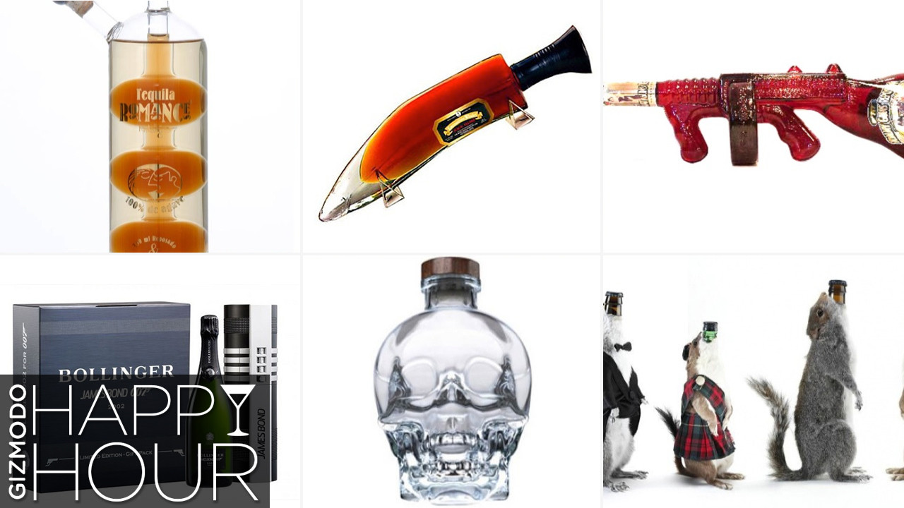 The 20 Weirdest, Coolest Liquor Bottles in the World