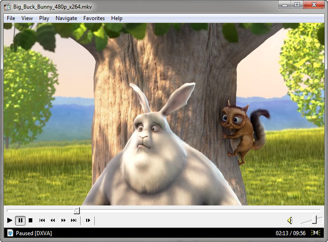 play .mp4 video with my windows media player