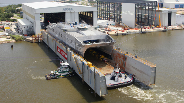 "The Navy's Newest ""Pickup Truck of the Sea"" Just Launched"