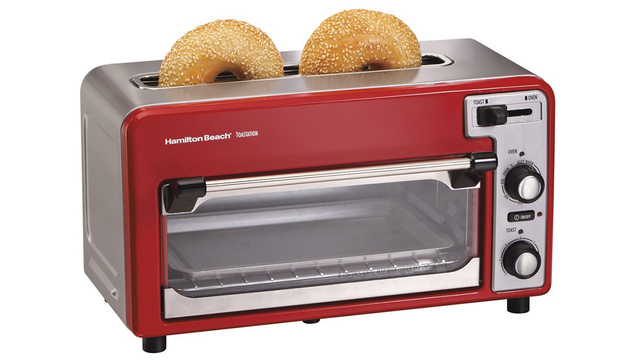 A Toaster Oven With a Bread Slot For When Pizza's Not On the Menu