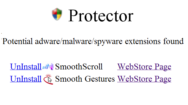 Chrome Protector Notifies You If You're Running an Adware Extension