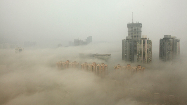Of Course, China's Bad Air Is