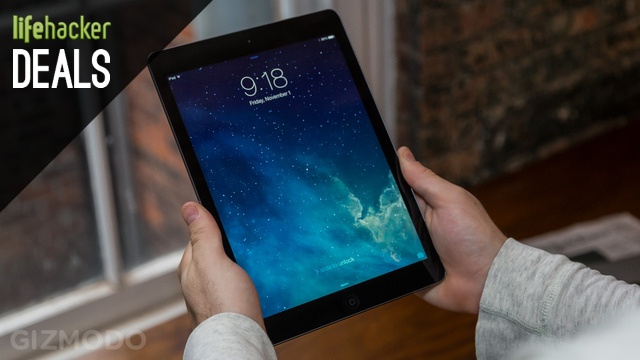 iPad Air $40 Off, A TV Fit for the Super Bowl, Kindle Fire HDX [Deals]