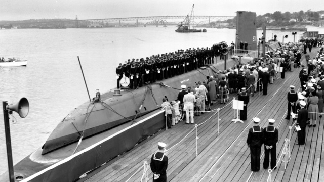 The World's First Nuclear Submarine Was Launched 60 Years Ago