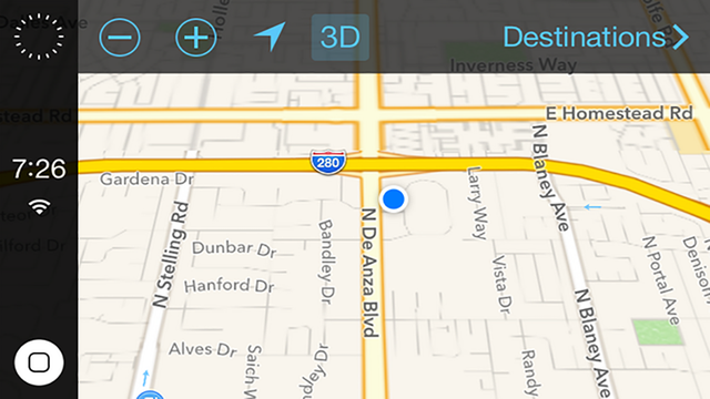 iOS in Your Car Could Look