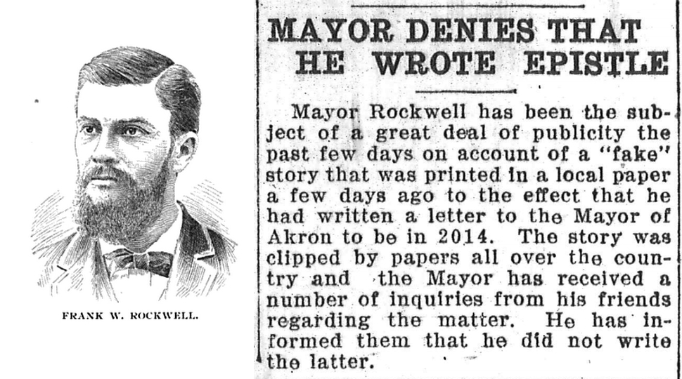 This Week in Time Capsules: The 100-Year Akron Mayor Capsule Hoax