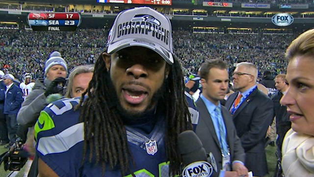 Richard Sherman Gives The Best Twitter Advice You'll Ever Get